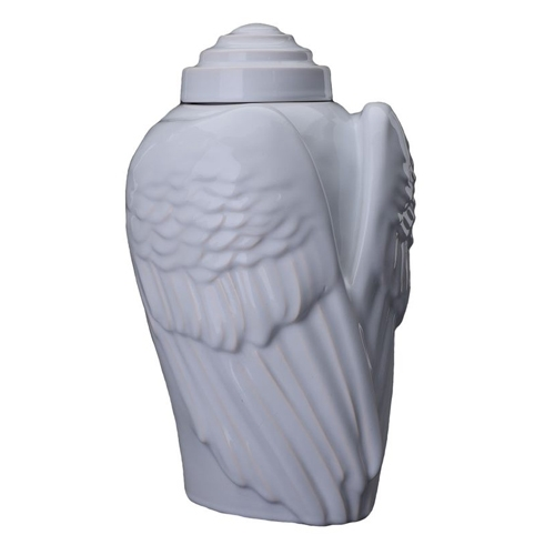 Angel funeral urns