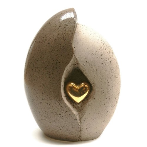 Ceramic keepsake urns
