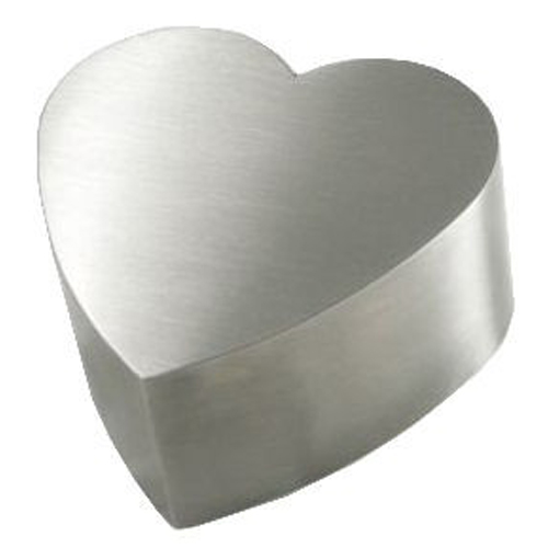 (Stainless) steel pet urns