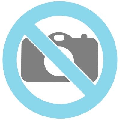 Ceramic keepsake cremation ashes urn with a candle
